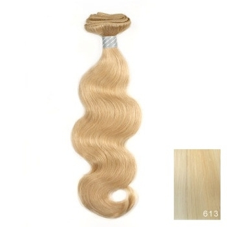 "Bohyme 18"" Body Wave Weave Extension Hair in #613 Blonde"