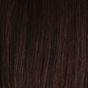 "Onyx Remi 18"" Yaki Weave Extension Hair in #1B Dark Brown"