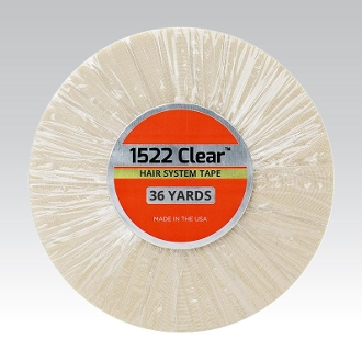 1522 Clear Hair System Tape - 36 Yards