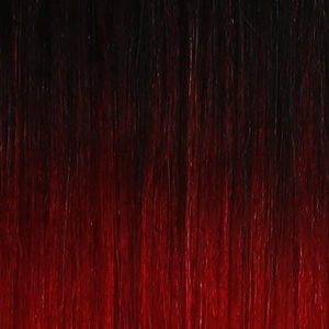 "Onyx Remi 18"" Yaki Weave Extension Hair in #1B/Burgundy Ombre"