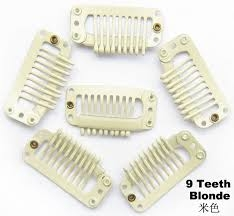 Blonde Wig Clips